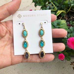 Kendra Scott Jana Earrings in Turquoise